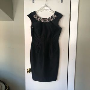 LBD with pearl and stone details